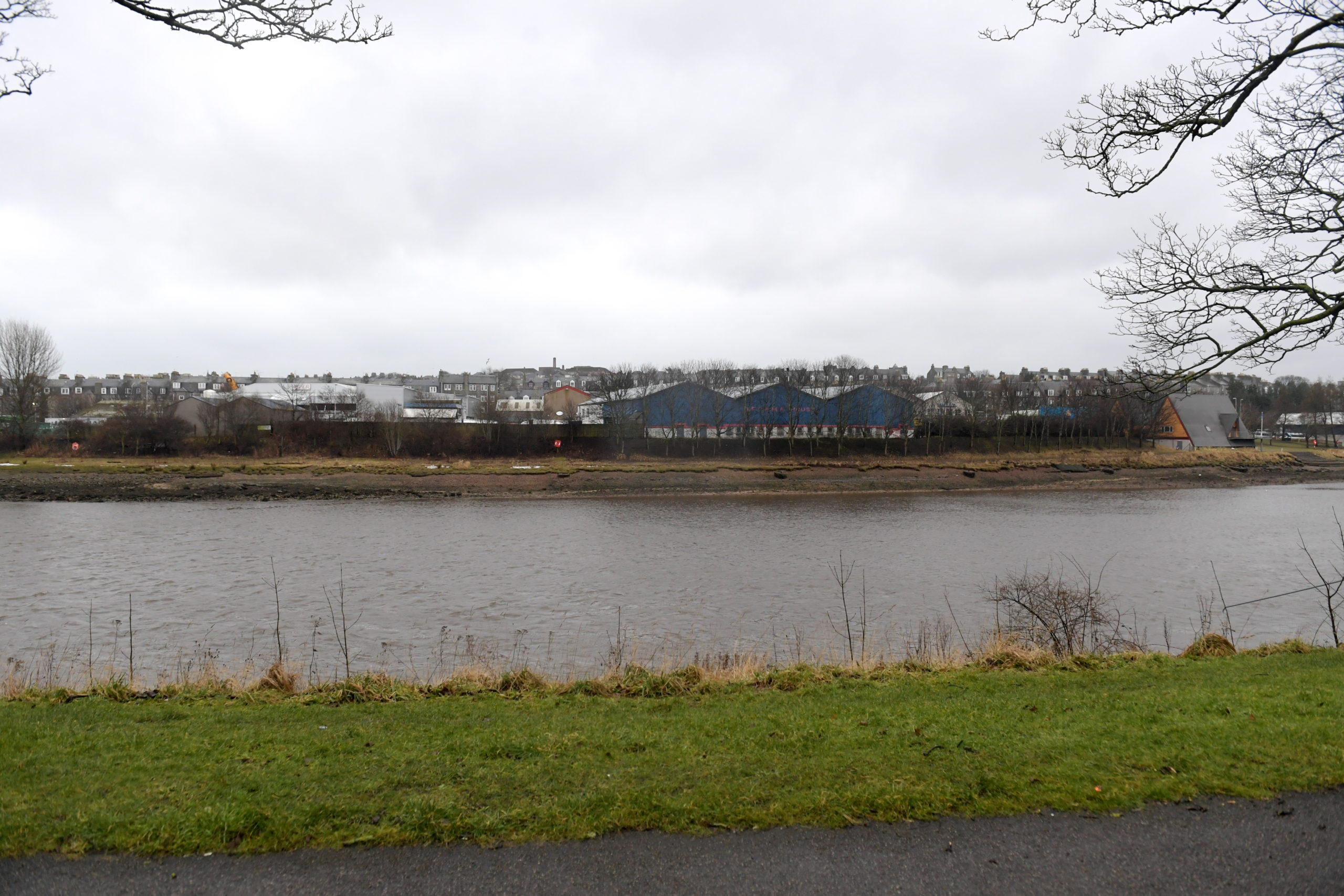"Land on the South side of the River Dee between Victoria Bridge and Aberdeen University Boat Club, taken from Photo taken from North Esplanade West. Councillors have said the development site deserves ""something special"". Picture by Kath Flannery."