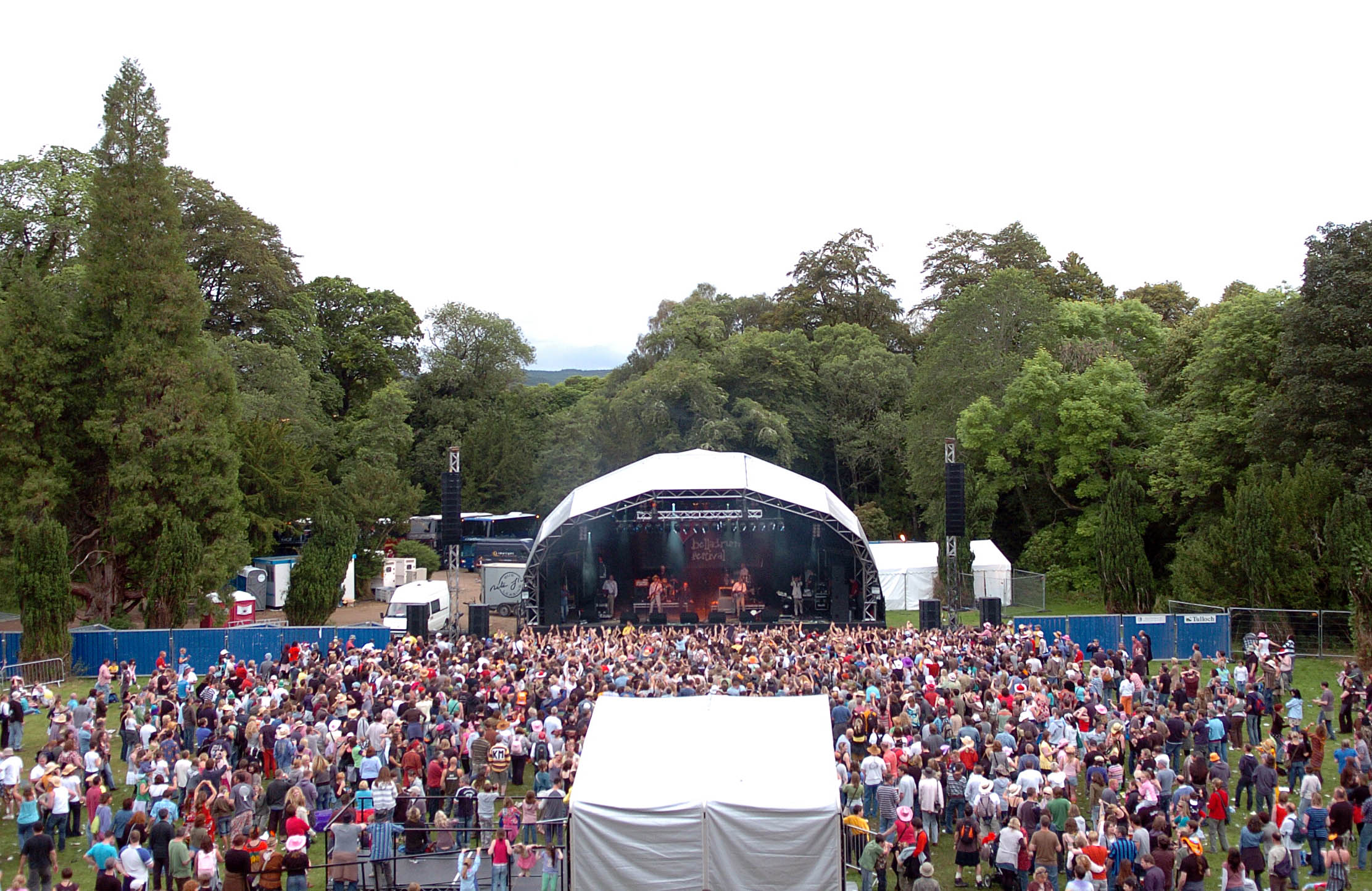 Belladrum's Garden stage. Picture by Andrew Duke.
