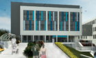 An artist's impression of the new elective care centre.