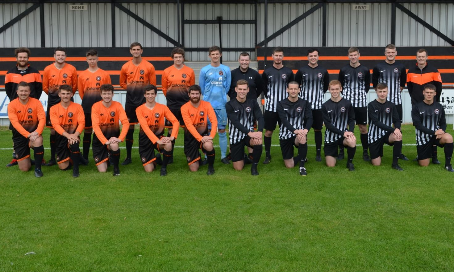 Fraserburgh United FC took part in a 24 hour run to raise funds for the Salvation Army food bank.