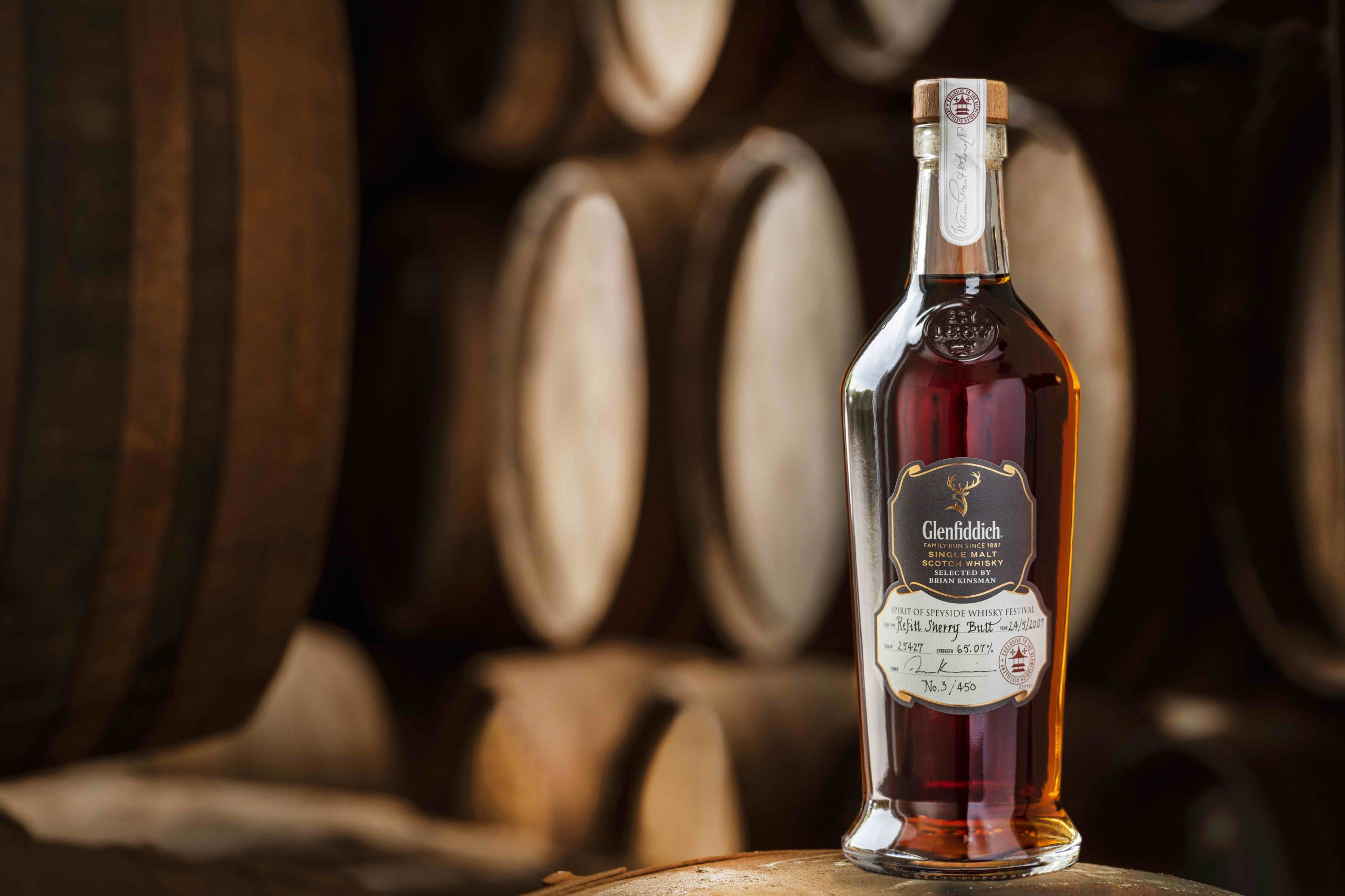 Glenfiddich hosted a successful charity auction.