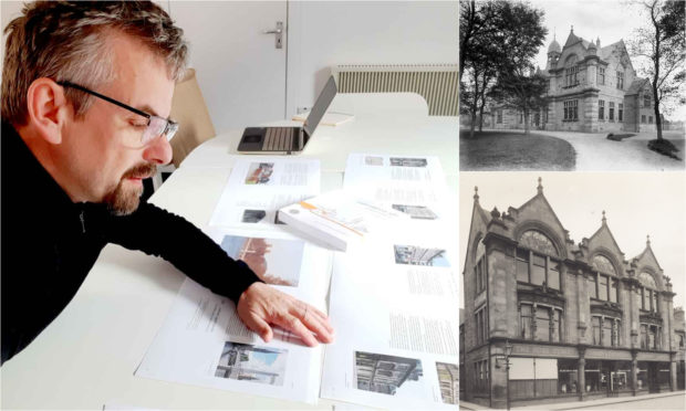Calum Maclean, who owns architectural practice MAAC Studio, will deliver the talk on the historic Inverness buildings