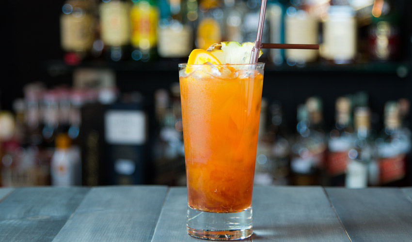 Irn-Bru cocktail