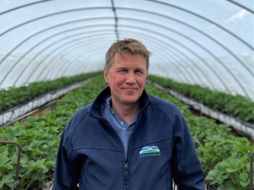 NFU Scotland horticulture chairman James Porter.