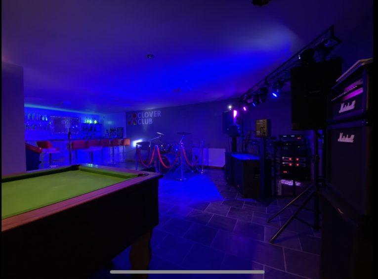 Ken Mack's home bar in Inverness