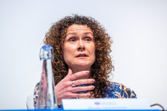 Lib Dem MP Wendy Chamberlain.