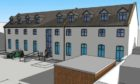 Developers hope to create 14 flats within the former Royal British Legion building.
