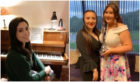 Martha Forbes, Carys Taylor and Rebecca West were awarded bursaries at the festival.