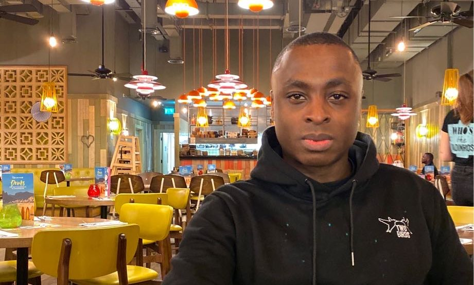 Ola Akisanya is one of the organisers of the End SARS protest taking place in Aberdeen.