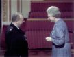 Special Cop Alan Melville with the Queen.