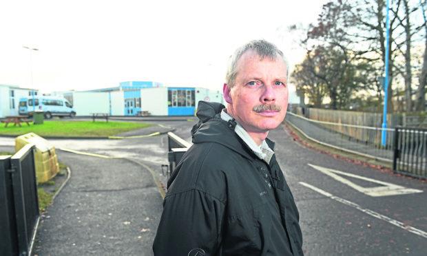 Mark Gunn, chairman of Highland Parent Council Partnership.