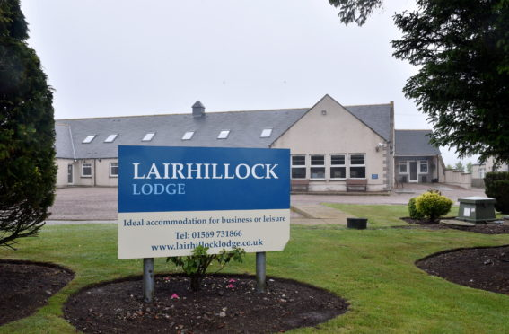 Lairhillock Lodge is set to be converted into five homes.