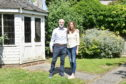 Bob and Annie Fraser at their home 74 Hamilton Place, Aberdeen. Picture by Darrell Benns