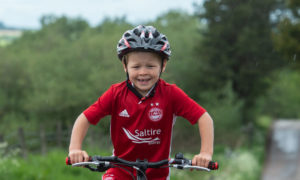 Six-year-old Lewis Mackay. Picture by Jason Hedges.