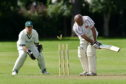 Tauqeer Malik playing for Bon Accord.  Picture by Kenny Elrick