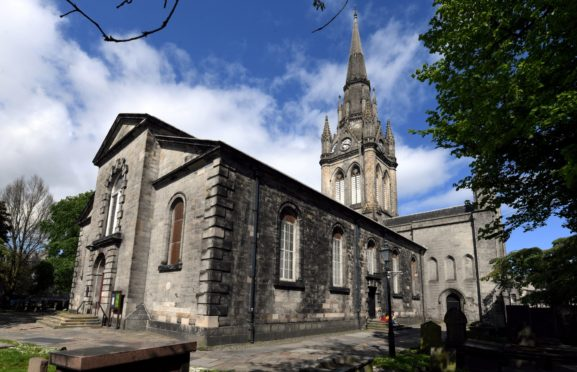 St Nicholas Kirk, Church in Aberdeen.         Picture by Kami Thomson