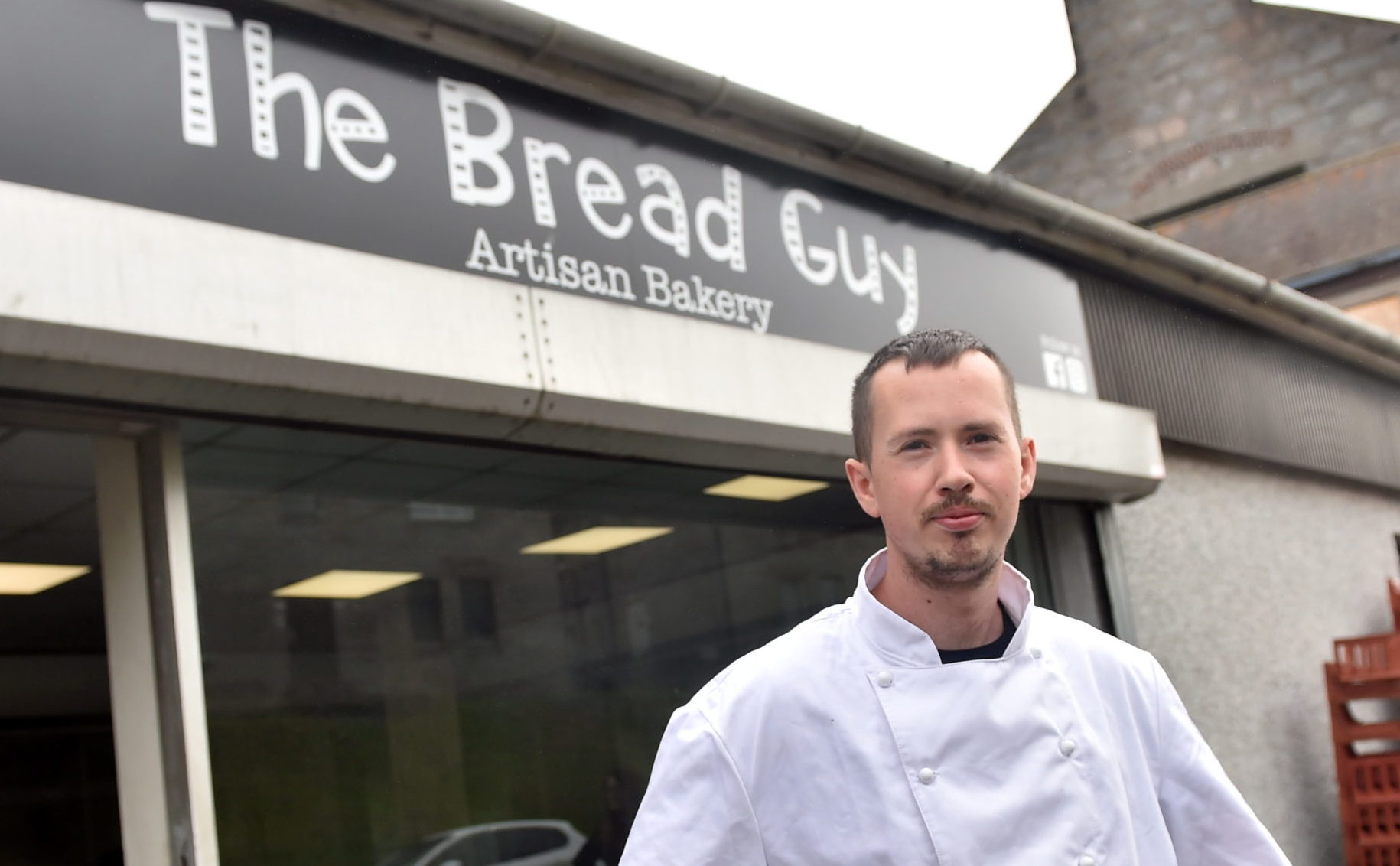 Gary McAllister (Co owner and head baker)