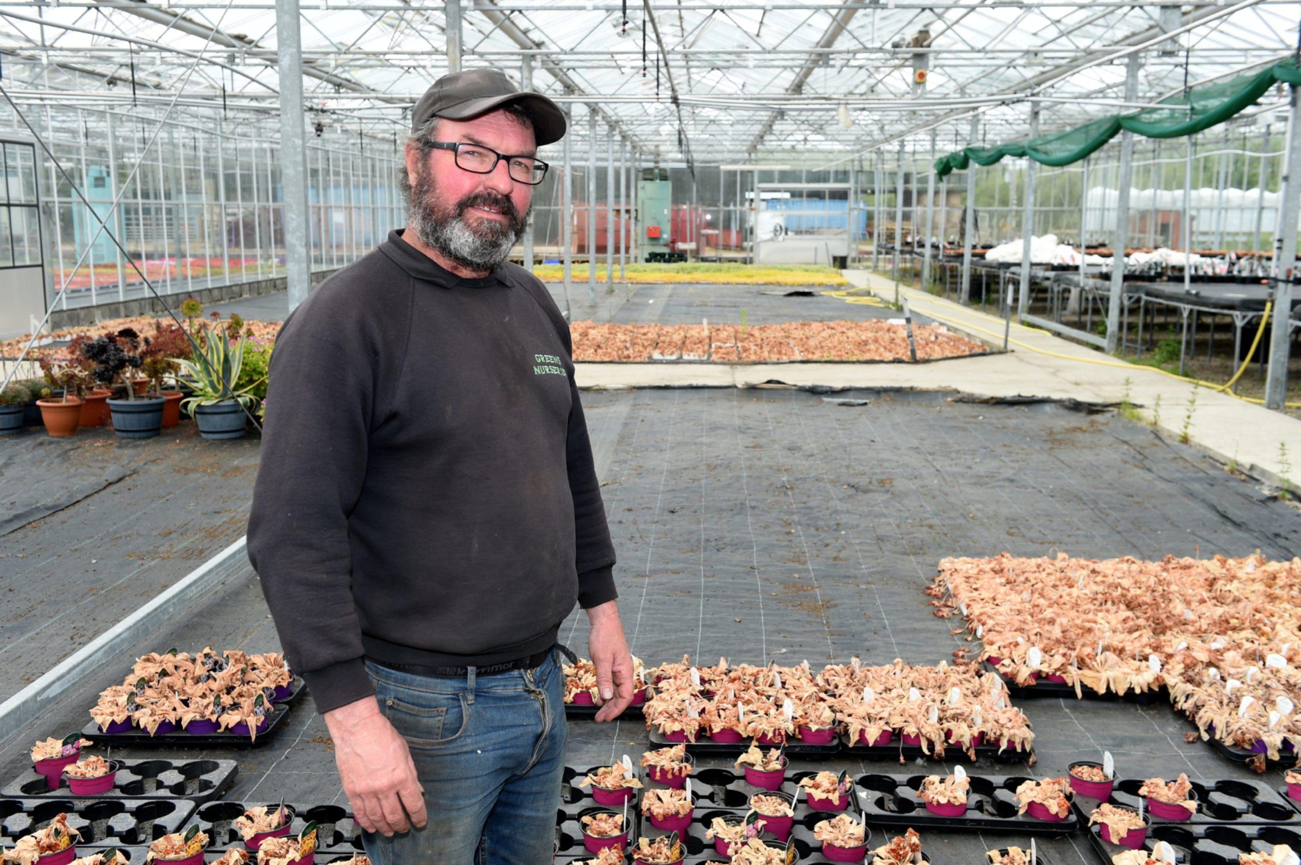 Donald Green estimates his business has lost £1m.