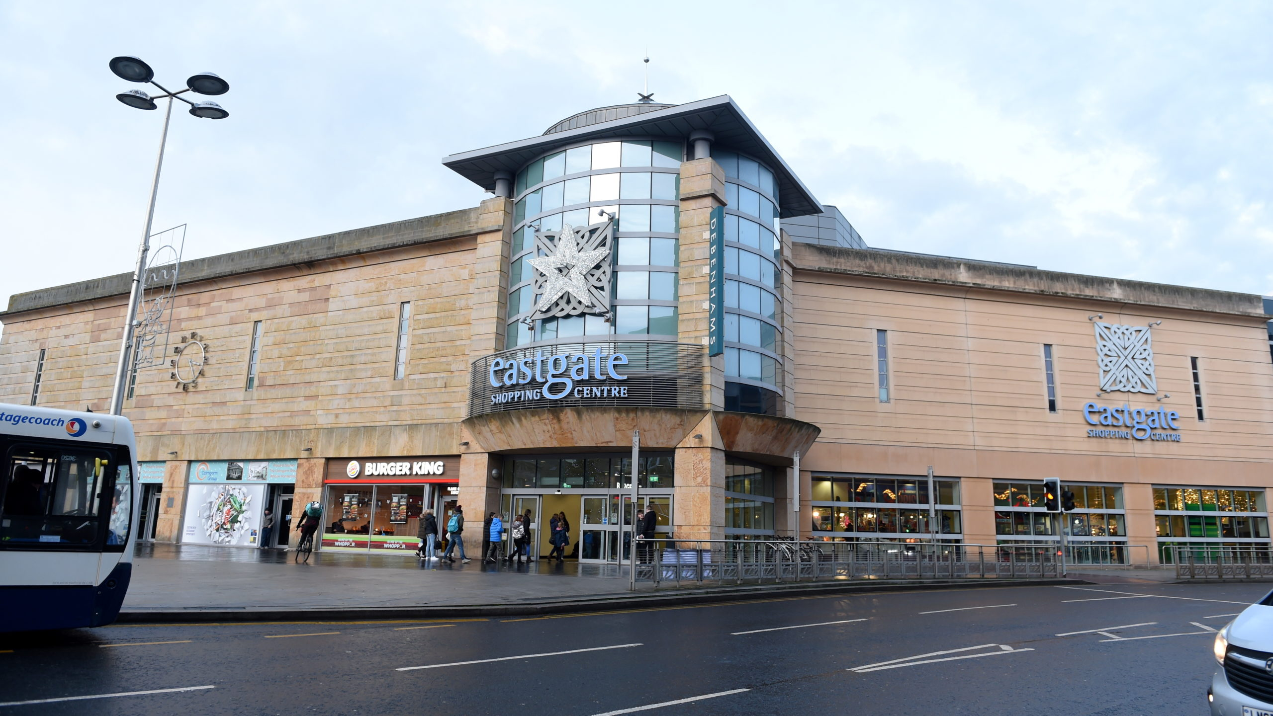 The Eastgate Shopping Centre in Inverness.
