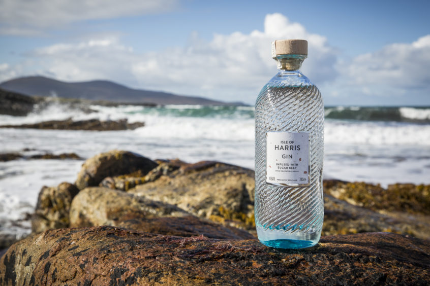 Isle of Harris gin.