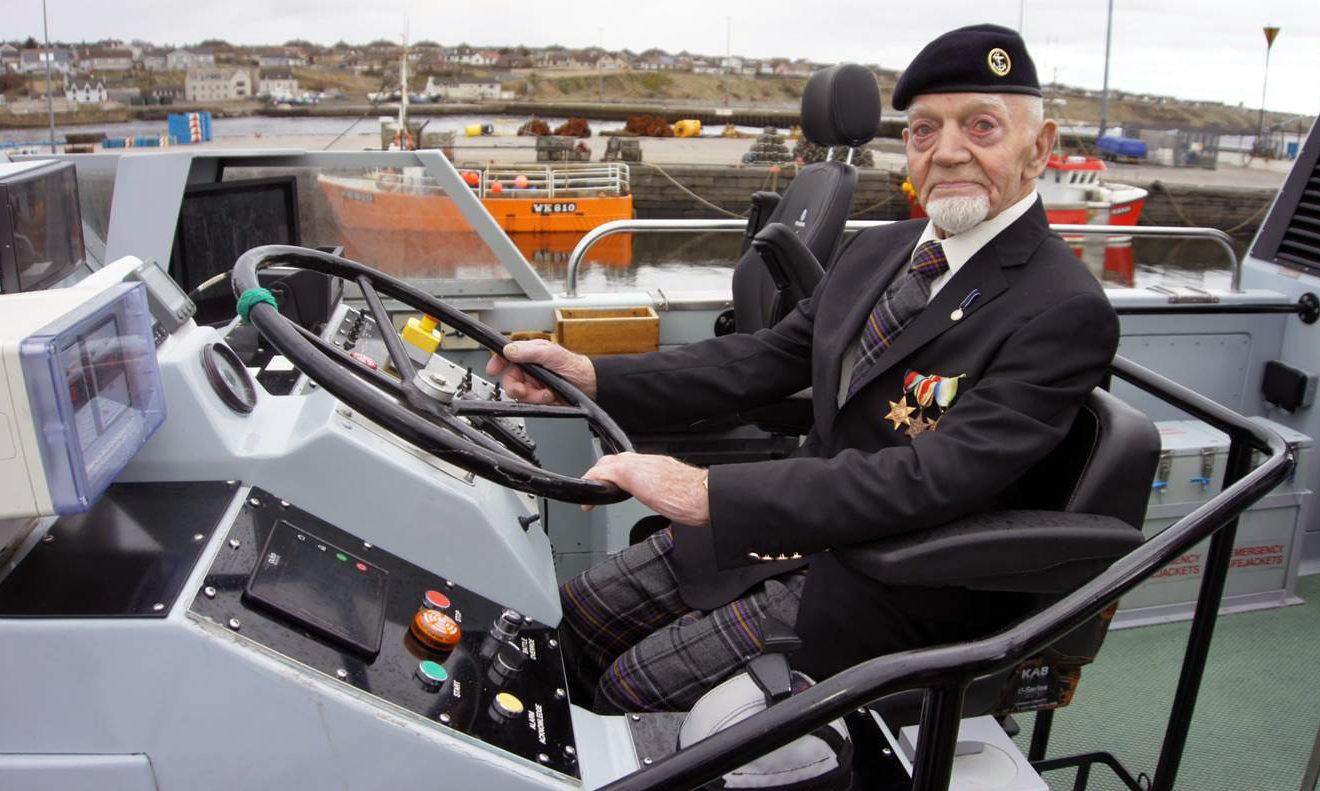 Richard Polanski is the oldest veteran in the region.