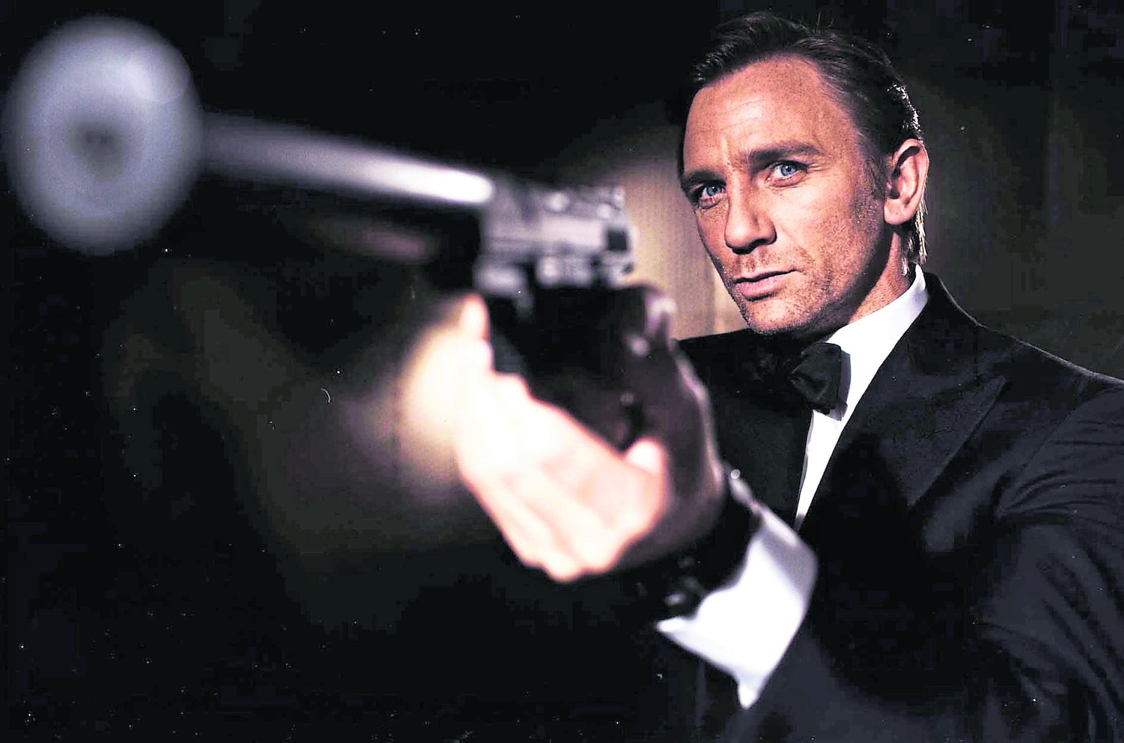 Daniel Craig in his final outing as James Bond in the upcoming film No Time to Die