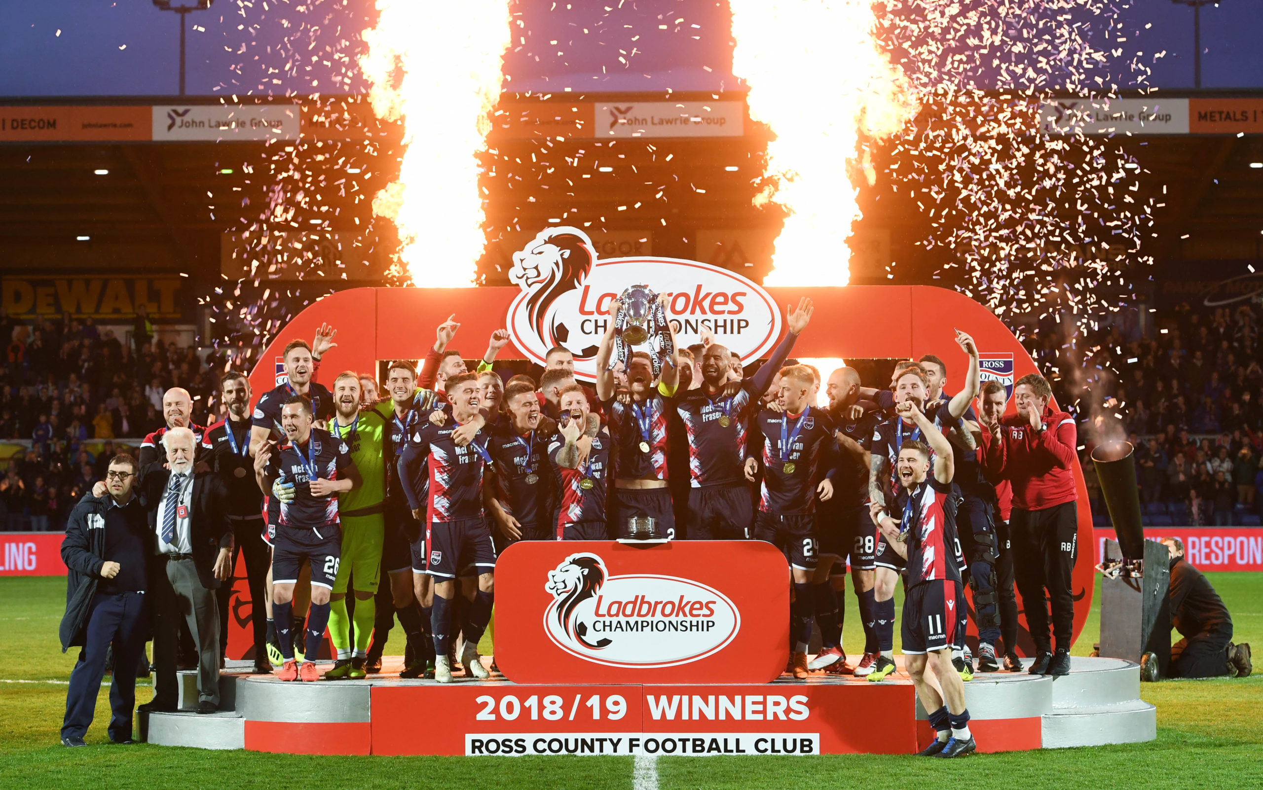 Ross County won the Championship last season to bounce straight back up to the top-flight.