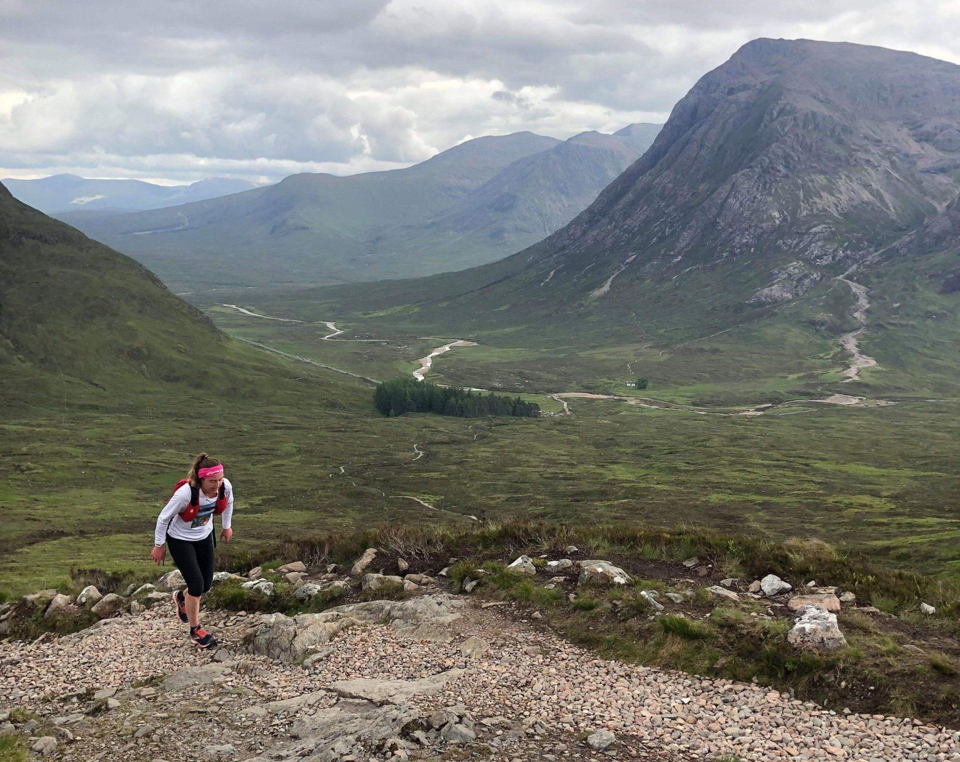 Siobhan Killingbeck during her glory run.