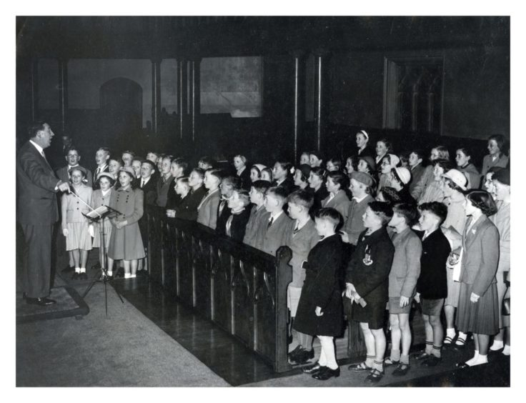 St Nicholas Childrens' Choir 1957