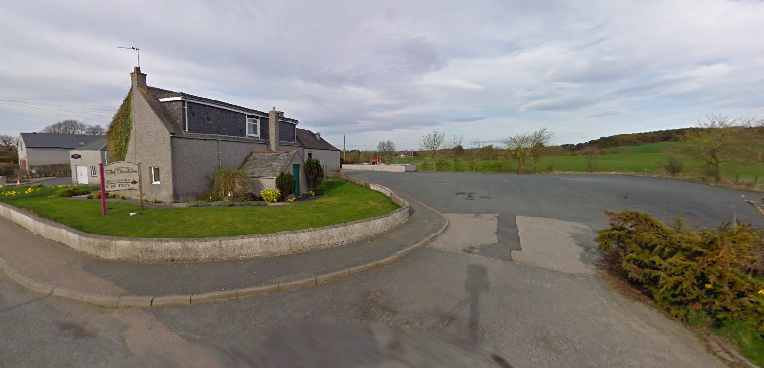 Google Maps image of the Inn and adjoining car park