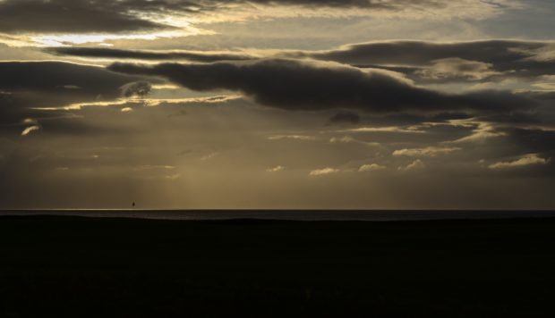 The duo will tee off at sunrise at Royal Dornoch