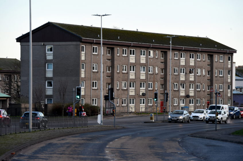 Woodside has seen the highest death rate across the north and north-east, according to new figures released by the National Records of Scotland.
