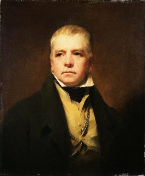 A portrait of Sir Walter Scott by Sir Henry Raeburn.