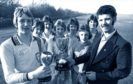Dons legend and Gothenburg great Neil Simpson got used to picking up silverware at an early age. Here he is, as captain of Middlefield BC team, displaying the cup they won at the British five-a-side soccer under-16 championships. Neil, now Aberdeen FC's head of youth, had just been signed by the Dons.