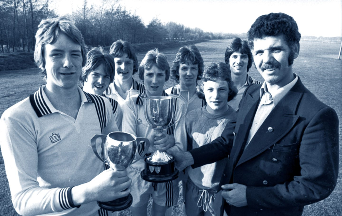 Dons legend and Gothenburg great Neil Simpson got used to picking up silverware at an early age.