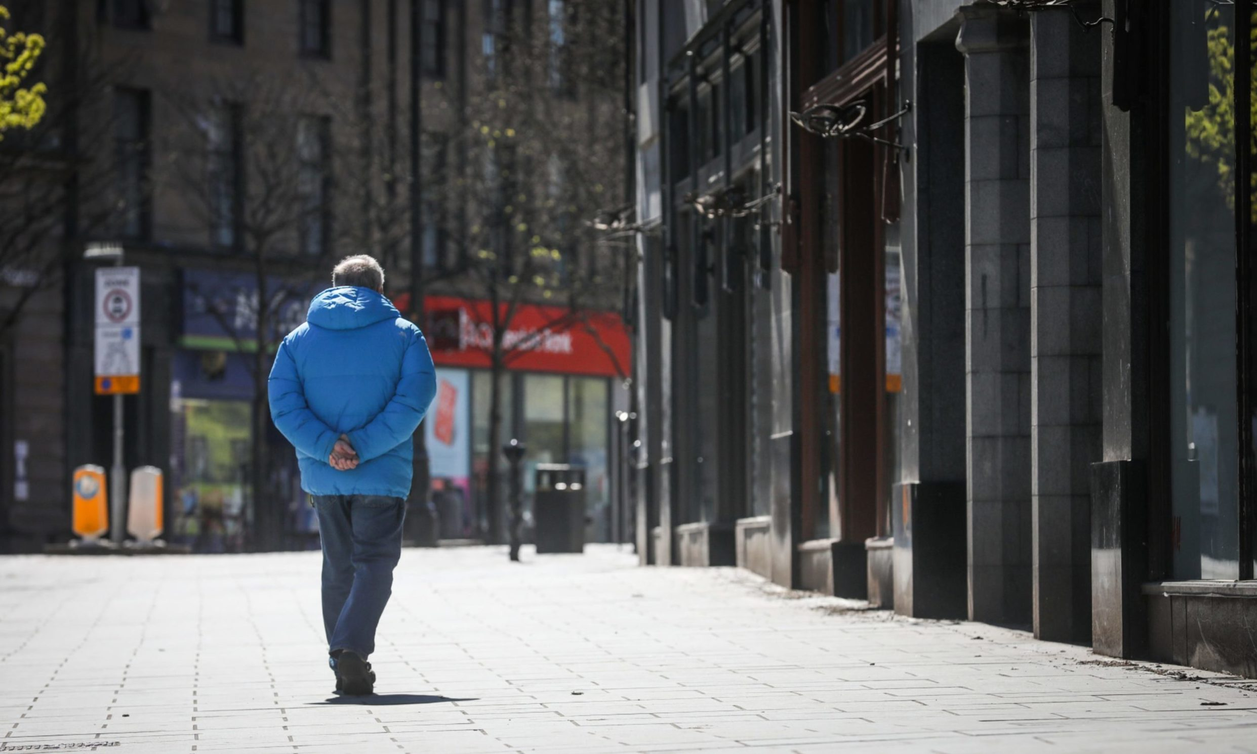 Experts believe the number of infectious people in Scotland could fall further by the end of next week.