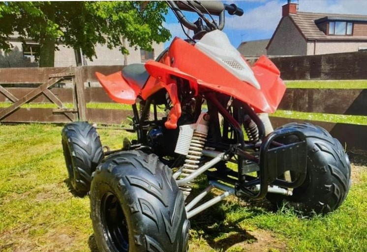 A quad bike has been recovered in Mintlaw