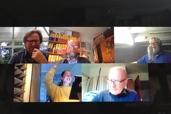 The cast of Morrison's Van series enjoyed recording the one off episode.