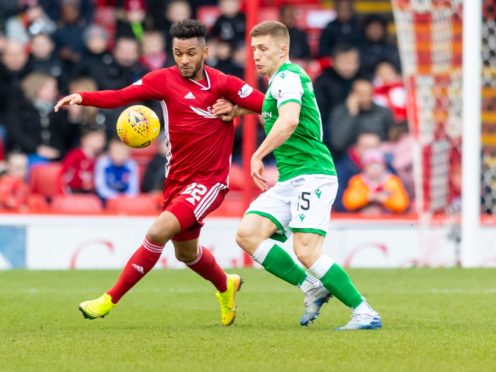 Aberdeen's last game, against Hibs, came in early March.