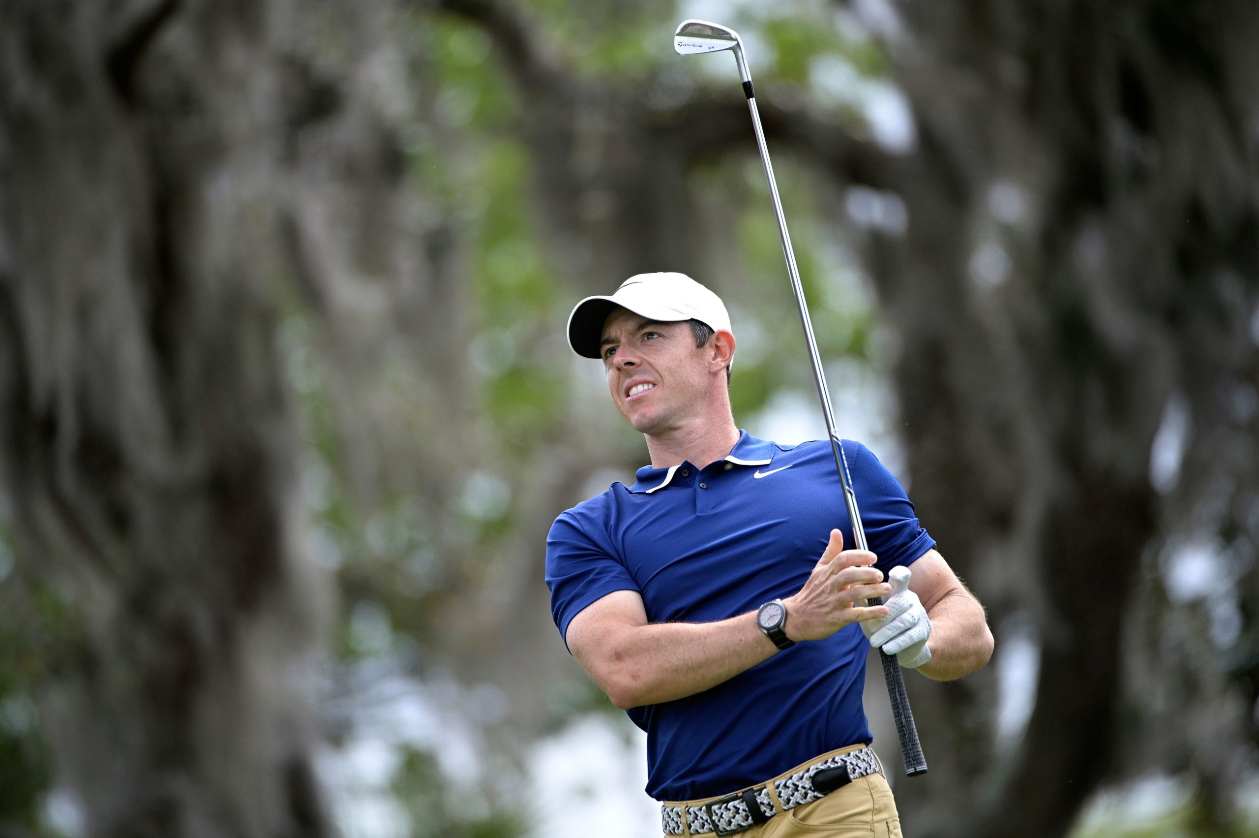 Rory McIlroy  leads the fields at Colonial.