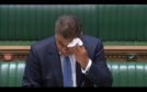 Alok Sharma fell ill in the Commons.
