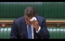 Alok Sharma fell ill in the Commons.