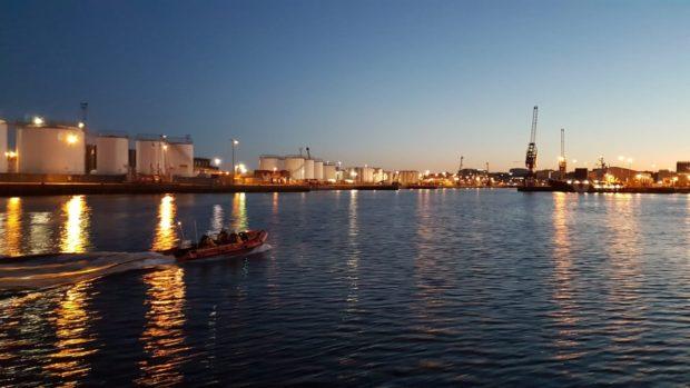 Aberdeen harbour.