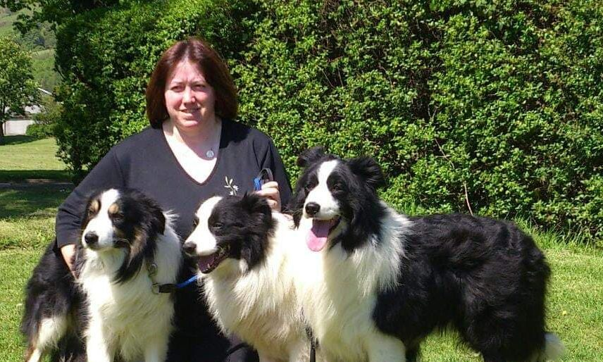 Katrina Rettie hopes the online dog show will be a success.