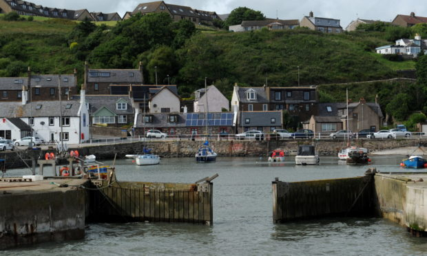 Gourdon Harbour. Picture by KENNY ELRICK