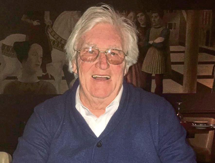 Stephen Gallacher's dad, Jim.
