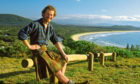 Young wanderer Alastair travelled to Crescent Head, Australia, in 1982