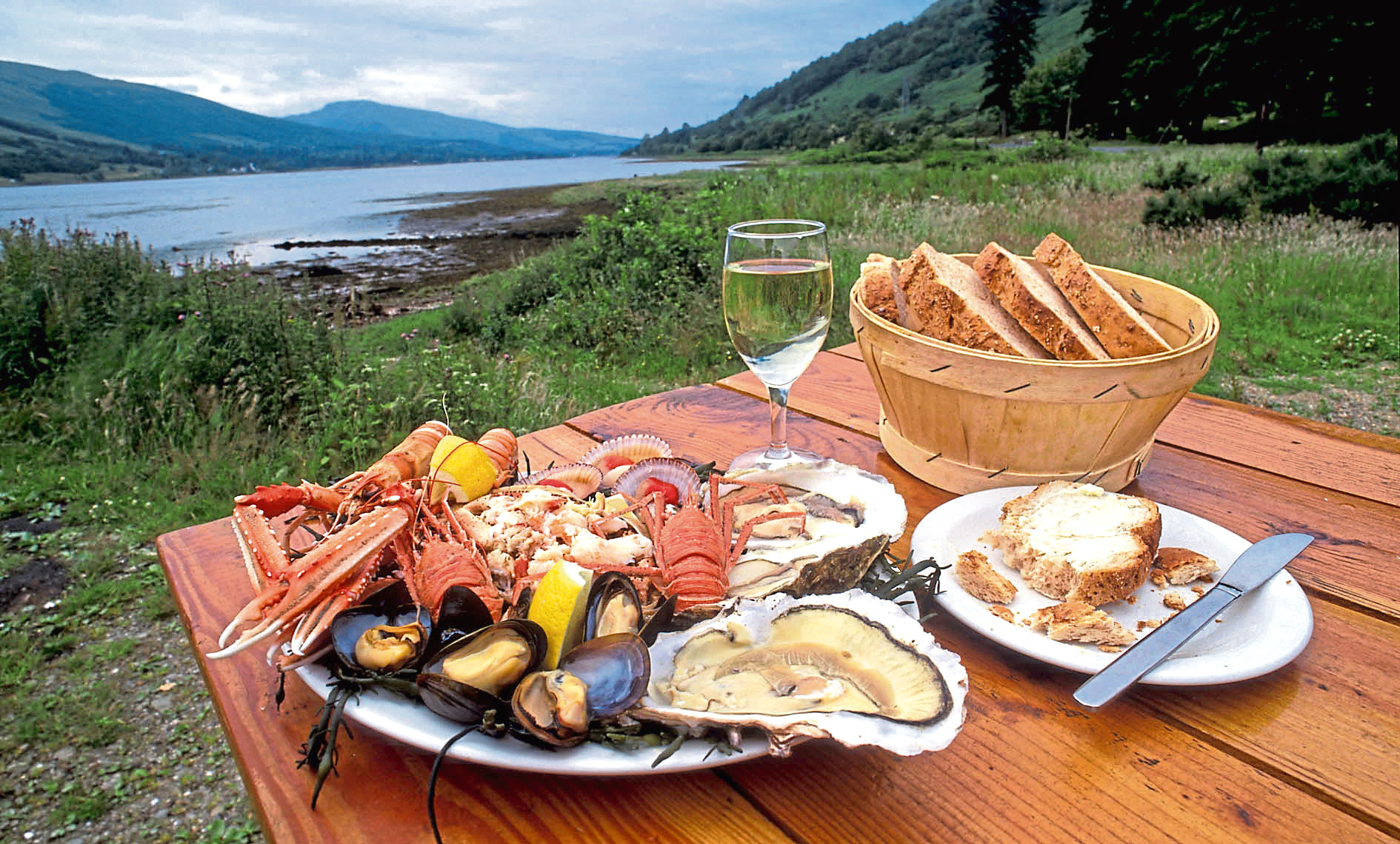 Scottish seafood problem