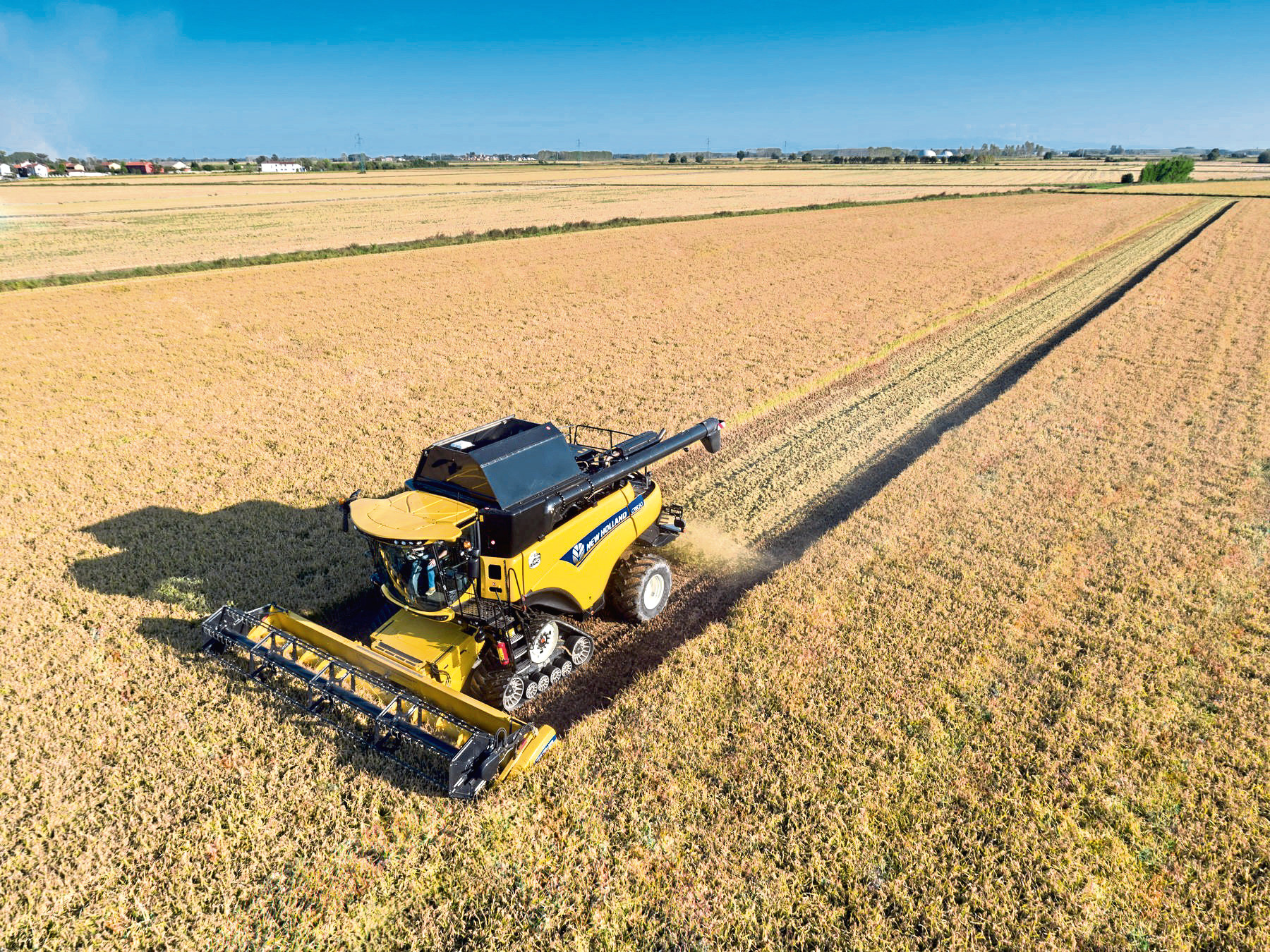 The company specialises in New Holland machinery.