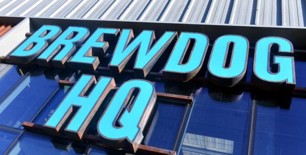 Brewdog is based in Ellon